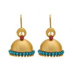 Image result for indian earrings jhumka