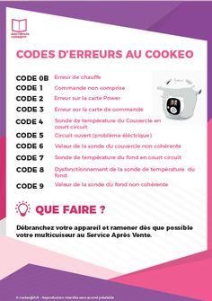 Code d'erreur au Cookeo Qui ne s'est jamais retrouvé en face d'un code d'erreur au Cookeo pendant la préparation d'une recette ? Bien que la plupart du temps le code d'erreur soit bénin ( manque de liquide dans la cuve par exemple) , il est toujours utile d'avoir un petit mémo pour savoir d'où peut […]