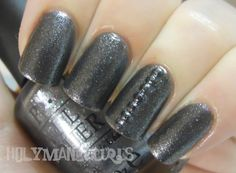 Studded Accent Nails