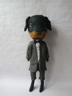 friggin' adorable. dog wearing suit and bow tie by evangelione.com