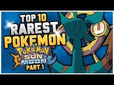 Top 10 RAREST Pokemon In Pokemon Sun and Moon Part 1 - http://freetoplaymmorpgs.com/pokemon-sun-and-moon/top-10-rarest-pokemon-in-pokemon-sun-and-moon-part-1