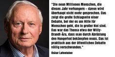 #oskar #lafontaine im Interview mit dem NDR zur #Flüchtlingspolitik, zur #afd und #entwicklungshilfe: http://www.ndr.de/info/Lafontaine-fordert-Reaktion-der-Linkspartei,audio284458.html