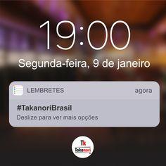 Estamos de volta!!! #takanori #takanoribrasil #uberaba