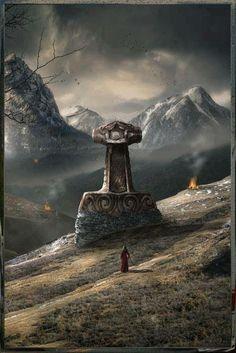Community about Norse Mythology, Asatrú and Vikings. Norse Pagan, Old Norse, Viking Symbols, Norse Mythology, Rune Viking, Viking Life, Viking Warrior, Viking Hall, Les Runes
