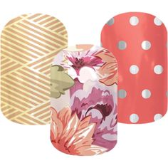 """""""Jamberry Combo - Gold CrissCross & Flower Shop & Icy Rose Polka"""" by sunshine91588 on Polyvore"""