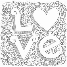 Love #Colouring Page - maybe you have Valentine??