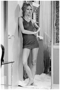 Brigitte Bardot by Terry O'Neill - 1968