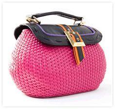 Gunas Vegan Neon Handbag