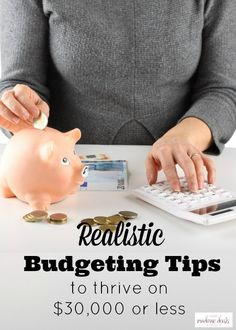 Get your money in order and be able to survive and thrive on less by doing these Basic Home Budgeting tips!