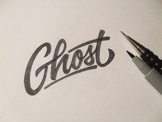 Dribbble - Ghost Sketch by Dalibor Momcilovic