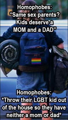 Homophobia makes NO SENSE