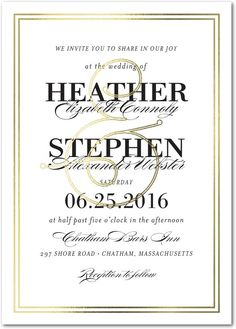 Victorian Splendor - Signature Foil Wedding Invitations in Cashmere Pink or Sea Glass | simplyput by Ashley Woodman