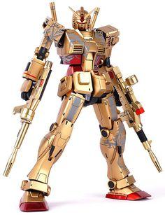 GUNDAM GUY: MG 1/100 RX-78-2 Gundam The Origin [Enter The Dragon] - Painted Build