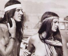 Hippies at Woodstock   Hippie Immagini