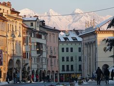 Piazza dei Martiri (Liston), Belluno by twiga_swala, via Flickr