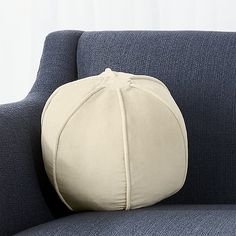 "Brenner Sesame 12"" Sphere Velvet Pillow 