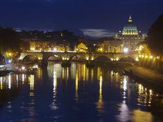 Roma - San Pietro vista da lungotevere