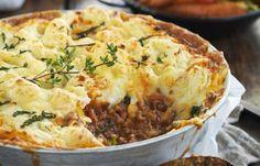 How to make my wife's version of Portuguese shepherd's pie (Enpadao).