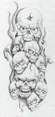 skull sesson by markfellows.deviantart.com on @deviantART