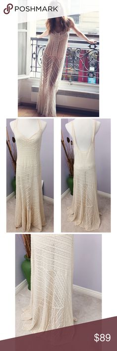 9c139389b76c Selling this Intimately Free People Maxi Lace Slip on Dress NWT on Poshmark!  My username