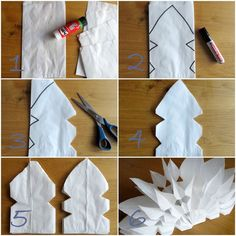 Der kleine Bruder brachte von der Adventsbastelwerkstatt aus der Schule einen wu… The little brother brought from the Advent craft workshop from the school a beautiful star, made of baker's bags, with. Christmas Art, Winter Christmas, Christmas Decorations, Diy For Kids, Crafts For Kids, Diy Paper, Paper Crafts, Star Diy, Navidad Diy