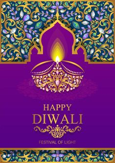 With gold diya patterned and crystals on paper color ,Happy Diwali festival card. With gold diya patterned and crystals on paper color , Diwali Greetings Images, Happy Diwali Pictures, Diwali Images, Diwali Festival Of Lights, Diwali Wishes, Mehndi Art Designs, Indian Festivals, Flower Backgrounds, Religious Art