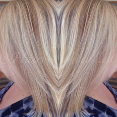 summer blonde on my mom using redken 8na 20 volume at roots and highlights - Coloration Redken Nuancier