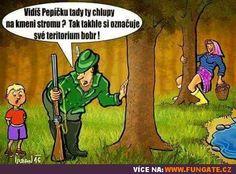 Vidíš Pepíčku tady ty chlupy na kmeni stromu? Humor, Funny Pictures, Jokes, Lol, Pump, Quote, Photo Illustration, Laughing So Hard, Cheer