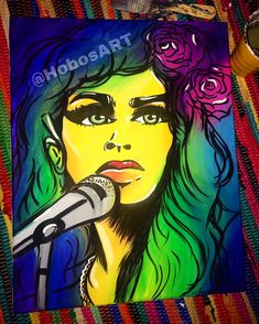 Colorful Wall Art, Amy Winehouse, The Dreamers, Disney Characters, Fictional Characters, Paintings, Disney Princess, Artist, Prints