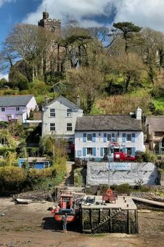 Noss Mayo, Devon by slys Devon Uk, Devon And Cornwall, North Devon, Devon England, Beautiful Islands, Beautiful World, Beautiful Places, Beautiful Scenery, England Ireland