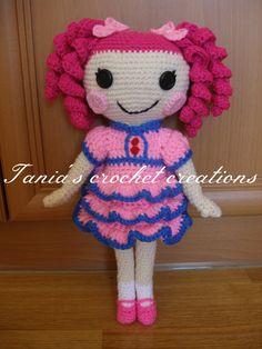 crochet amigurumi Lalaloopsy doll