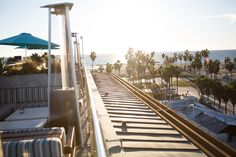 High Rooftop Lounge located in Hotel Erwin in Venice Beach, Ca.