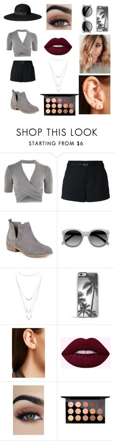 """""""Untitled #137"""" by ladivazamendes on Polyvore featuring Topshop, Loveless, Journee Collection, H&M, Charlotte Russe, Maria Tash and MAC Cosmetics"""