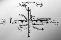 An der Ecke: Eberswalder Strasse / Schönhauser Allee