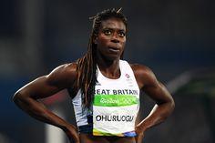 Christine Ohuruogu at Rio 2016