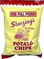 Sterzing Potato Chips made in Iowa