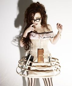 """Helena Bonham Carter: 'We're the bonkers couple' ~ The actor tells Simon Hattenstone about life with Tim Burton, their latest spectacular, Alice In Wonderland – and being branded a 'disastrous dresser'"" ~ Helen's quote: "" I feel more sexy than ever, not because I'm sexually attractive, I just feel I've grown into my body."" ♥ HER!"