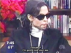 Prince Gifs — The Today Show, 1999