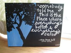 One Tree Hill Painting For Sale: $35.00