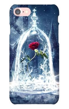 Beauty And The Beast Rose Belle Hard Phone Case Iphone 5 6 7 Samsung Galaxy S #UnbrandedGeneric