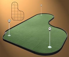 8X12 Indoor Putting Green   Never Before Could Everyone Own Their Own Putting  Green For Such