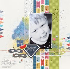 What does Superheroes and Fairytales have in common? Well, Lady Pattern Paper scrapbooking paper of course, it is perfect to capture memories Scrapbook Albums, Scrapbook Paper, Scrapbook Layouts, Pattern Paper, Family History, Scrapbooks, Fairy Tales, Polaroid Film, Memories