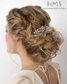 Wedding Hairstyles : 50 Incredible Long Wedding Hairstyles from Hair & Makeup by Steph | Deer Pearl F