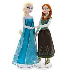 Anna and Elsa Ice Skating Doll Set - Frozen - 12''