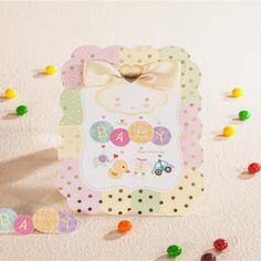 Baby Boy & Girl Christening Days Celebrating Invitation Cards Baby Birthday Party Invitation card #Affiliate