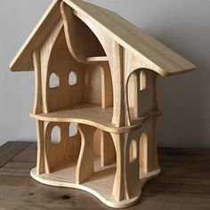 This type of ikea dollhouse can be an inspiring and marvelous idea Ikea Dollhouse, Dollhouse Kits, Wooden Dollhouse, Wooden Dolls, Making Wooden Toys, Handmade Wooden Toys, Wooden Diy, Imagination Toys, Doll House Plans