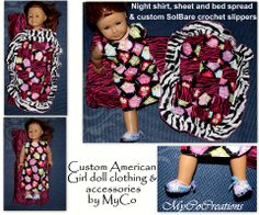 @MyCoCreations Custom doll clothes & accessories for your American Girl dolls, just look #MyCoCreations