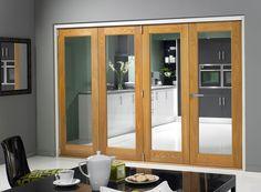 Premium Bi fold & Bifolding Doors (Aluminium / Oak Wood) » Vufold