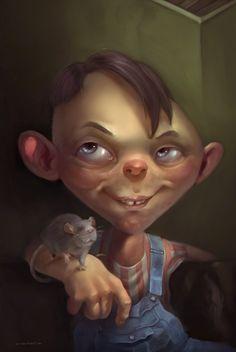 Rendeck kid, Felipe Cachopa on ArtStation at https://felipecachopa.artstation.com/projects/E2Ynq