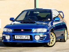 1998 Subaru Impreza 2.0 WRX STi Type-R 2-door coupe. Metallic Blue. Ltd ed. no 378. Click on pic shown for loads more.